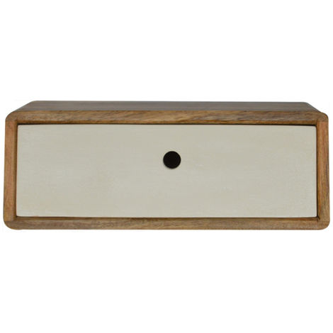 Wall mounted 1 Drawer Bedside