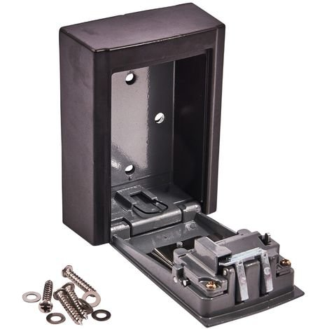 Wall Mounted 4 Digit Key Storage Box