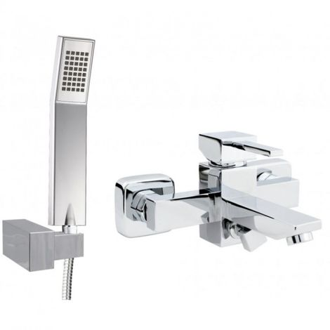 Wall mounted bath shower caro