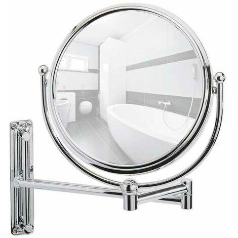 Wall-mounted cosmetic mirror Deluxe WENKO
