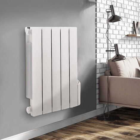 """main image of """"Wall Mounted Electric Radiator Thermostatic Heater Digital Oil Filled Radiator"""""""
