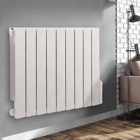 Wall Mounted Electric Radiator Thermostatic Heater Digital Oil Filled Radiator