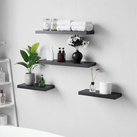 Wall Mounted Floating Shelf Display Storage Stand