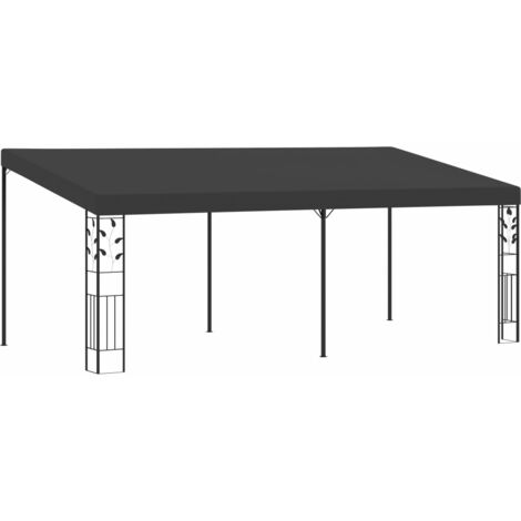 Wall-mounted Gazebo 6x3x2.5 m Anthracite