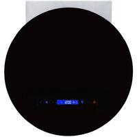 Wall Mounted Range Hood LCD Display Touch Sensor 756 m³/h LED