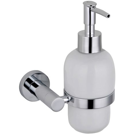 Wall Mounted Soap Dispenser - Chrome