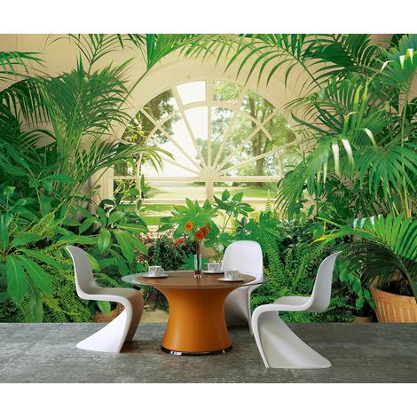 Wall Mural Evergreen Garden