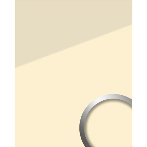 Wall panel glass look WallFace 17940 UNI MAGNOLIA decor panel self-adhesive beige cream 28 sq ft (2.60 sqm)