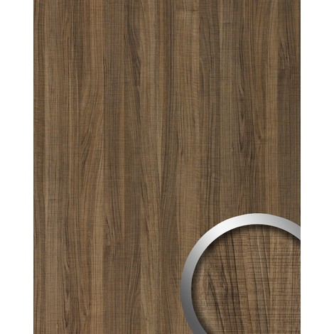 Wall panel wood look WallFace 19028 NUTWOOD COUNTRY walnut wood decor natural look and feel self-adhesive wall panelling brown | 28 sq ft (2.60 sqm)