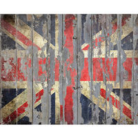 Wall Rogues Union Jack Wall Mural