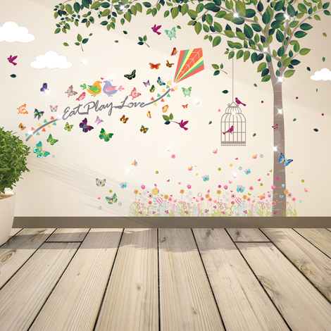 Wall Sticker Decal Joy of Spring