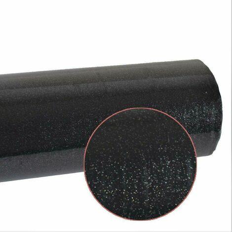 Wall Sticker Kitchen Worktop Glitter Vinyl Self Stickers Adhesive Wallpaper Sticky Home Decoraion black 10M