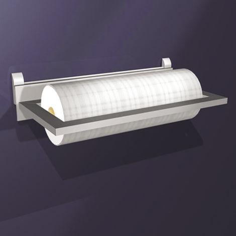 Wall Sys Papierrollenhalter 380 x 186 x 70 mm, Aluminium eloxiert