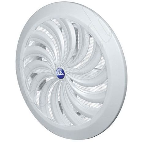 Wall Ventilation Grille Cover with Net And Shutter 100-150mm Changeable Diameter