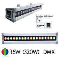 Wall Washer Led 36W (320W) IP 65 DMX RGB