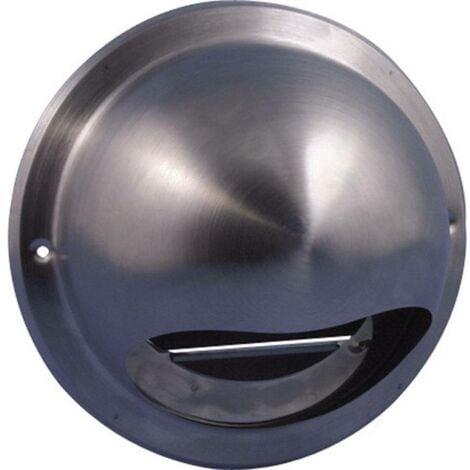 Wallair N34835 Griglia Per Cappa Di Aspirazione Acciaio Inox Adatto Al Diametro Del Tubo 10 Cm