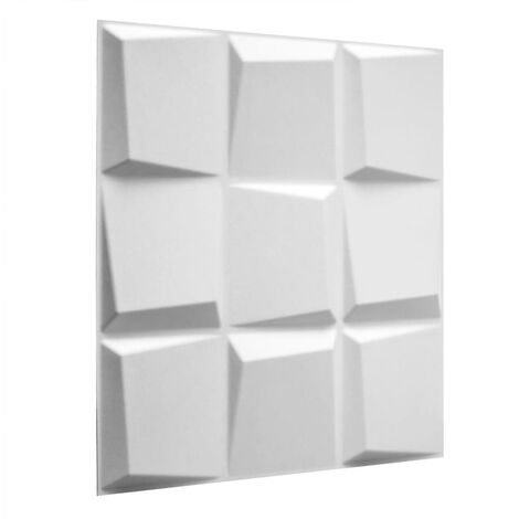 WallArt 12/24x 3D Wall Panels Oberon Living Room Bedroom Background Wallpaper Panelling Ceiling Tiles Cladding Roll Sheet Building Material
