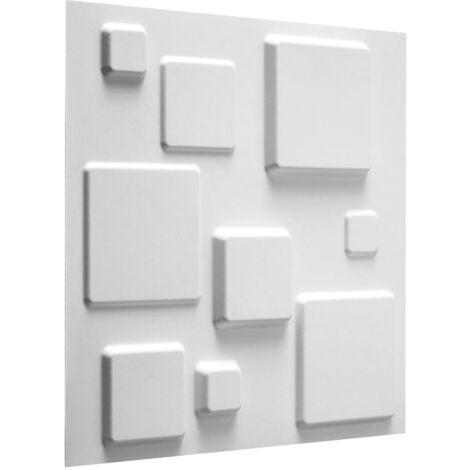 WallArt 24 pcs 3D Wall Panels GA-WA09 Squares