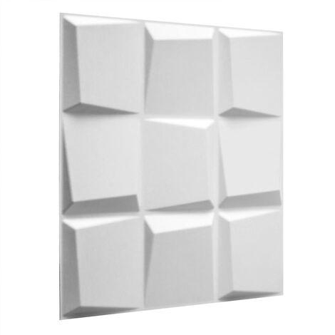 WallArt 24 pcs 3D Wall Panels GA-WA21 Oberon - White