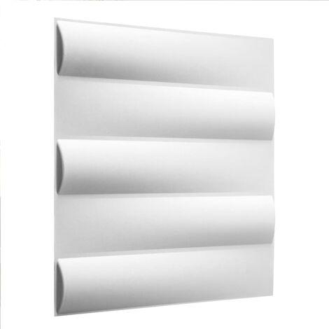 WallArt 24 pcs 3D Wall Panels GA-WA23 Jayden - White
