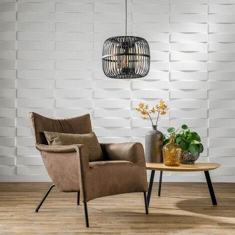 "main image of ""WallArt 3D Wall Panels Vaults 12 pcs GA-WA05 - White"""