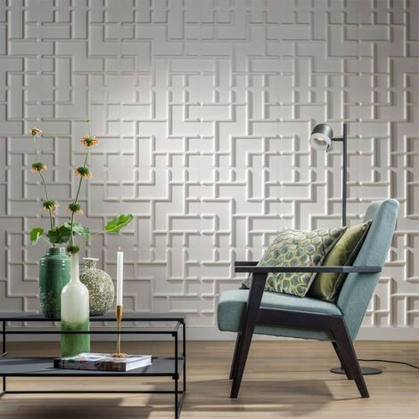 WallArt Paneles de pared 3D 24 unidades GA-WA16 diseño Tetris