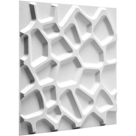 "main image of ""WallArt Paneles de pared 3D Gaps 12 piezas GA-WA01 - Blanco"""