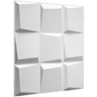WallArt Paneles de pared 3D Oberon 12 piezas GA-WA21