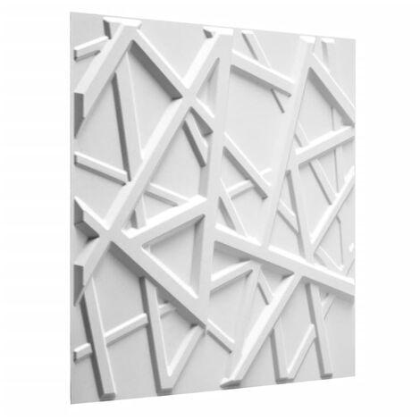 WallArt Paneles de pared 3D Olivia 12 unidades GA-WA26