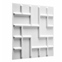 WallArt Paneles de pared Tetris 12 uds GA-WA16