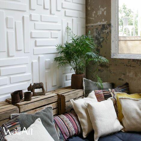 WallArt Panneaux muraux 3D Briques 12 pcs GA-WA02