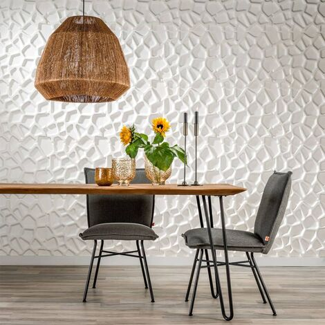 WallArt Panneaux muraux 3D Gaps 12 pcs GA-WA01