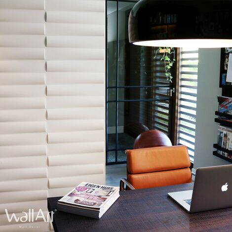 WallArt Panneaux muraux 3D Jayden 12 pcs GA-WA23