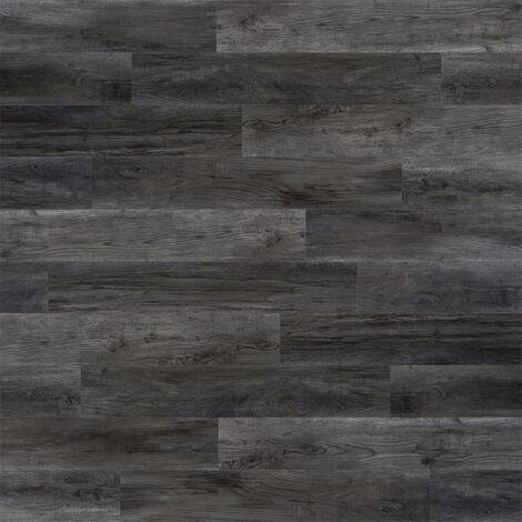 WallArt Wood Look Planks Barnwood Oak Ash Grey - Grey