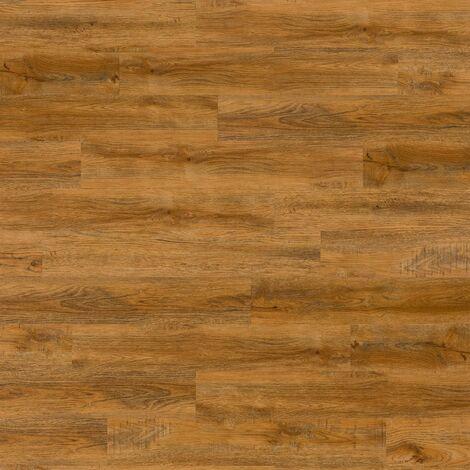 WallArt Wood Look Planks Reclaimed Oak Rusty Brown - Brown