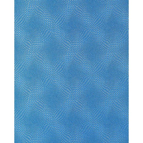 Wallcovering wallpaper wall abstract retro 3D graphical EDEM 064-22 vinyl pattern metal look blue silver 5.33 sqm (57 sq ft)
