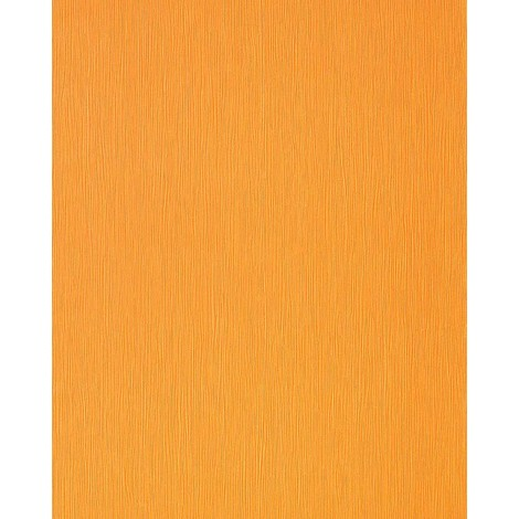 Wallcovering wallpaper wall style fine striped plain EDEM 118-21 yellow-orange pearl 5.33 sqm (57 sq ft)