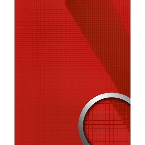 WallFace 13763 M-STYLE Wall panel interior plate room shop decor wallcovering self-adhesive sexy glossy reed | 0.96 sqm