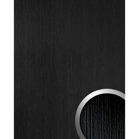 WallFace 15769 TOUCH Wall panel wallcovering wall panel textured decor interior plate self-adhesive black | 2.60 sqm