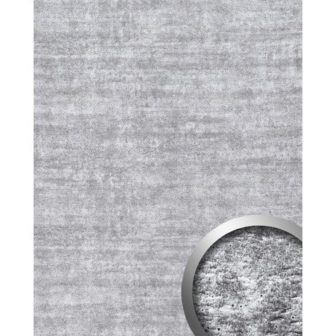 WallFace 16429 URBAN Wall panel wallcovering concrete decor interior plate self-adhesive wallpaper light grey 2.60 sqm
