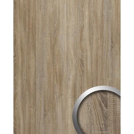 WallFace 17281 DECO OAK TREE Wall panel self-adhesive wood decor Luxury wallcovering self-adhesive grey | 2.60 sqm
