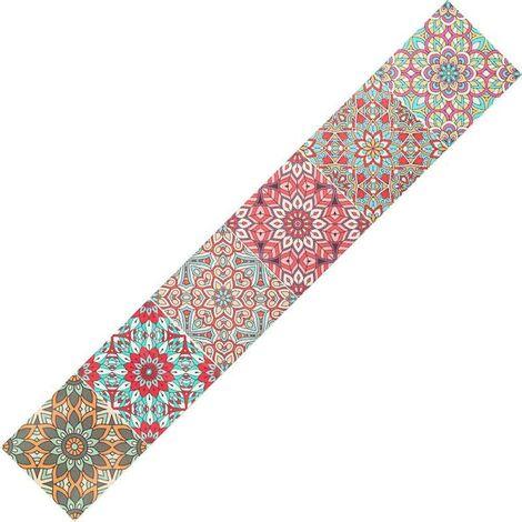 "main image of ""Wallpaper Border Tiles Removable Wall Decor Wall Frize Sticker Wallpaper PVC Waterproof Sticker Sticker 15x300cm"""