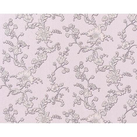 Wallpaper wall 3D XXL non-woven EDEM 919-39 textured flower floral syringa rose violet grey 10.65 sqm