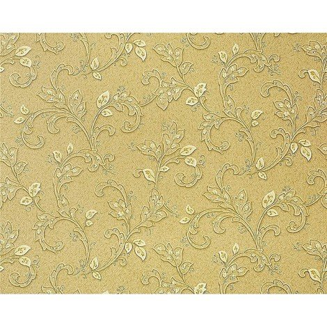 Wallpaper wall art floral EDEM 927-38 Flower heavyweight vinyl non-woven fresco look olive beige brown 10.65 sqm 114 sq ft