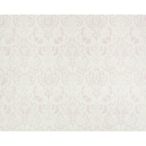 Wallpaper wall baroque royal damask EDEM 966-20 luxury non-woven heavy-weight cream gray syringa 26.50 sqm (285 sq ft)