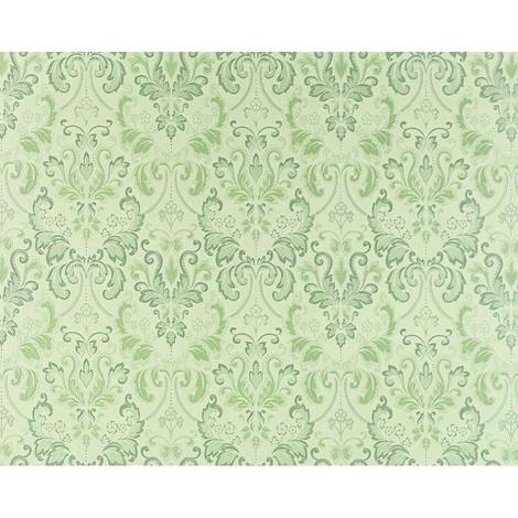 Wallpaper wall baroque royal damask EDEM 966-28 heavy-weight non-woven green light green 26.50 sqm (285 sq ft)