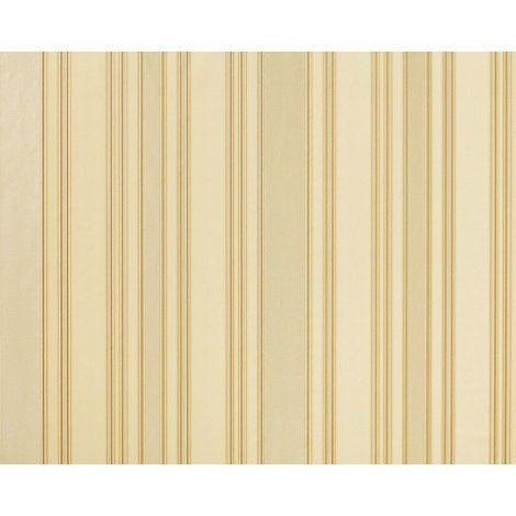 Wallpaper wall classic stripes EDEM 980-33 Luxury heavyweight striped non-woven oyster pearl white cream 10.65 sqm (114 sq ft)