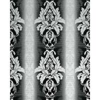 Wallpaper wall damask barock ornanment EDEM 770-30 luxury embossed heavyweight wallpaper wall black white 5.33 sqm (57 sq ft)