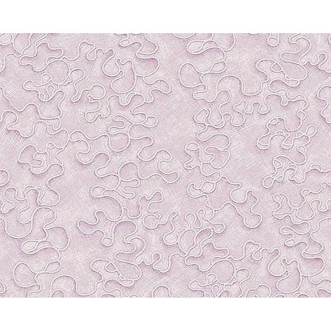 Wallpaper wall EDEM 677-96 XXL decor textured non-woven light pink silver 10.65 sqm (114 sq ft)