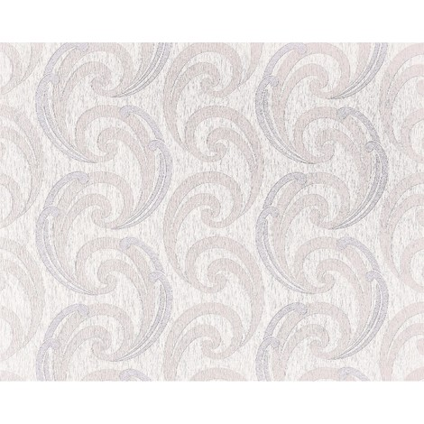 Wallpaper wall luxury textured curved lines EDEM 915-34 XXL non-woven embossed pattern syringa cream rose 10.65 sqm